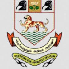 university of Madras Recruitment 2021