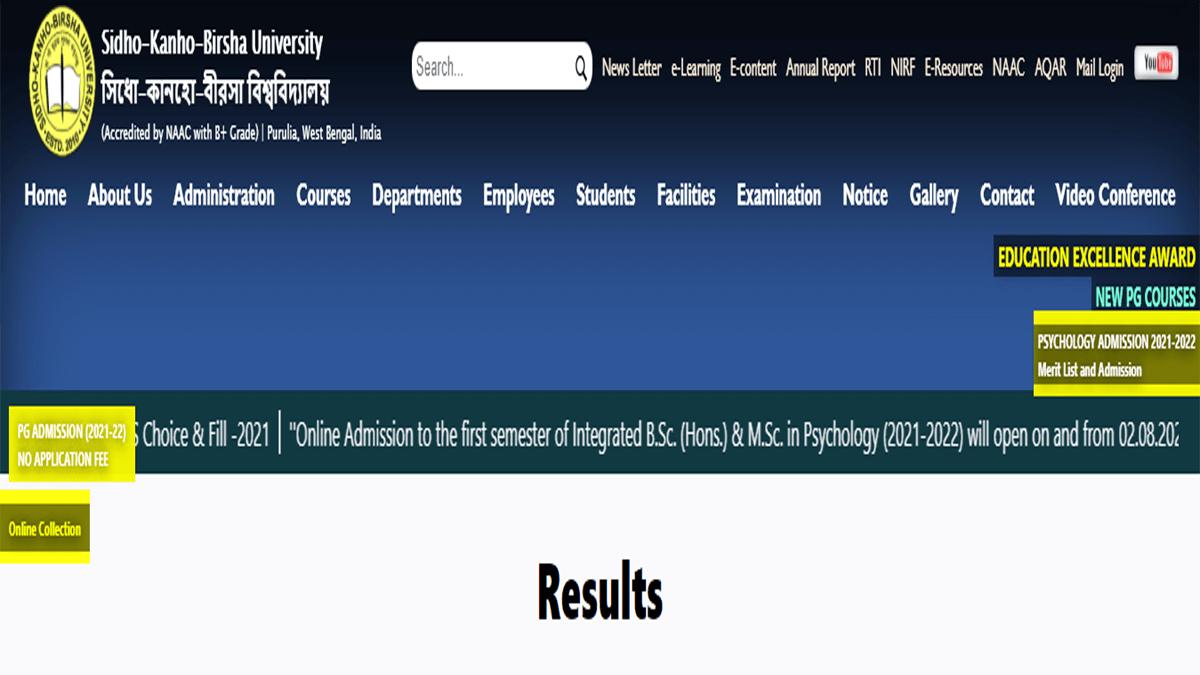 skbu result 2021